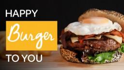 ¡Día Internacional de la Hamburguesa!