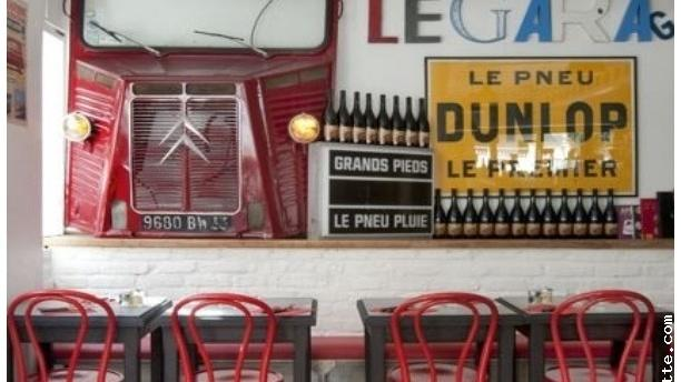 Restaurant le garage boulogne billancourt 92100 avis for Garage smart boulogne billancourt