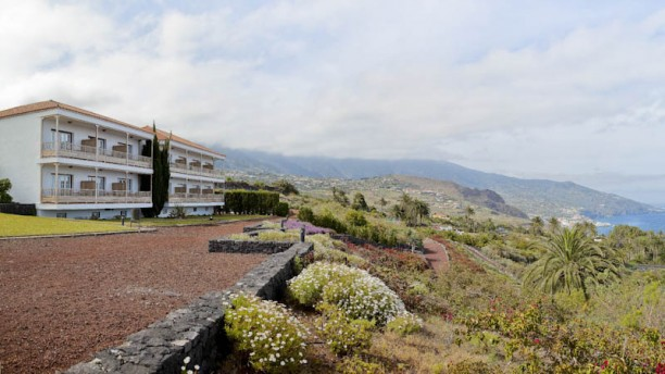 Restaurante Tamizia del Parador de La Palma fachada