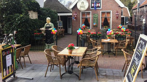 Pannenkoeken restaurant Vrouw Holle Terras