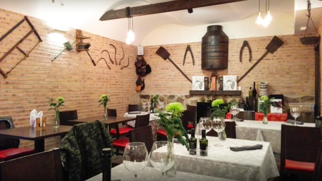 Sala del restaurante - La Venta, Aranjuez
