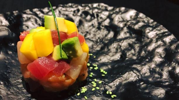 Sushi Taller - Bonanova Tar-tar variado con salsa wasabi