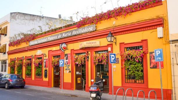 Sociedad Plateros María Auxiliadora Fachada en Cordoba del Restaurante Sociedad Plateros Maria Auxiliadora