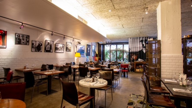 Renoma Café Gallery Salle du restaurant