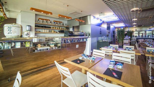 Paris tokyo galeries lafayette coupole in paris for Cuisine ouverte restaurant