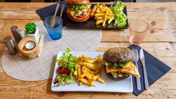 Home Burger Suggestion de plat