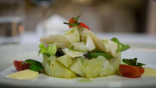 Unique Al Palatino Garden Restaurant Lamelle di baccalà e patate