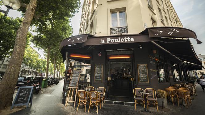 La Poulette et sa terrasse - La Poulette de Grain, Paris