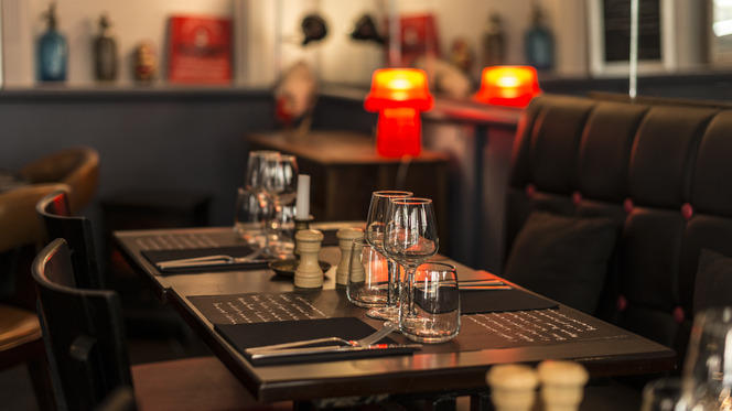 Table dressée - La Poulette de Grain, Paris