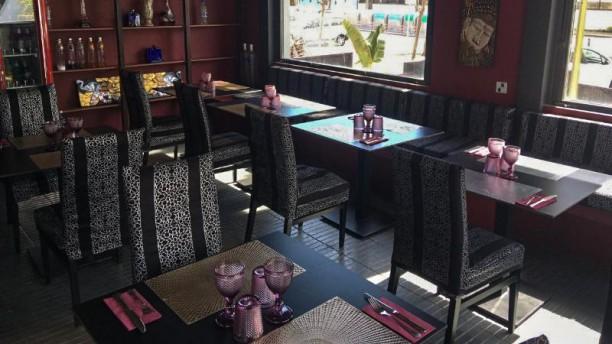 Kama del Mar Sala del restaurante