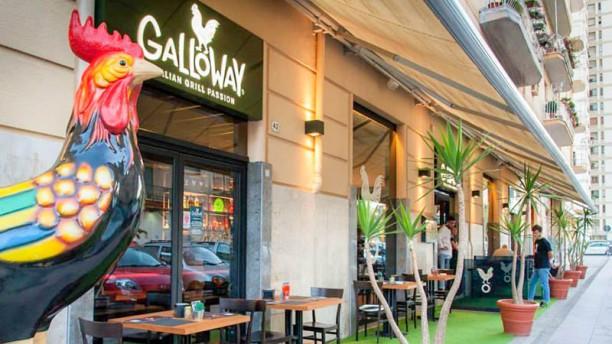 Galloway Palermo Entrata