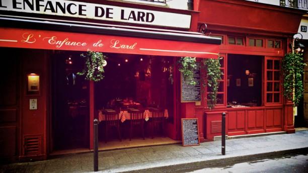 L'Enfance de Lard facade restaurant