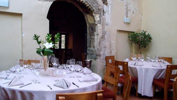 El Palacete Vista de una mesa