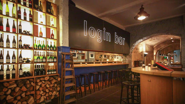 Login Bar entrée login bar