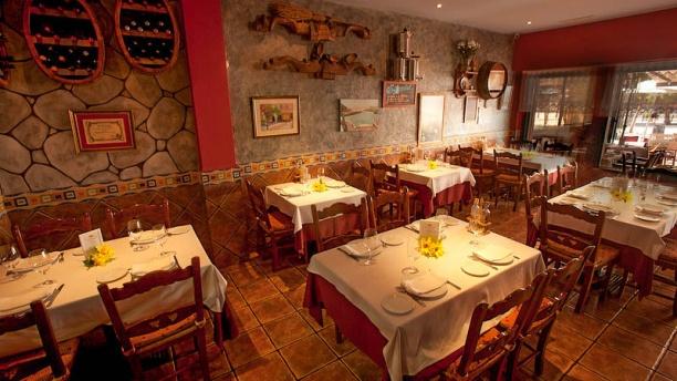 Rincón Asturiano Vista comedor