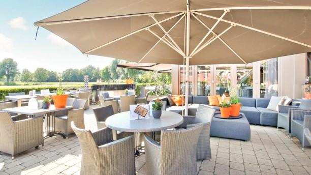 restaurant ´t Sluisje zonnige locatie