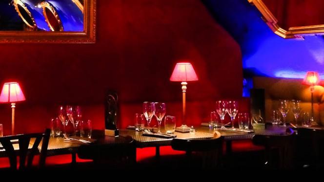 Salon du restaurant - La Chimère, Aix-en-Provence