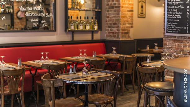 Restaurant le trois quart paris 75017 ternes porte - Auberge dab porte maillot restaurant ...