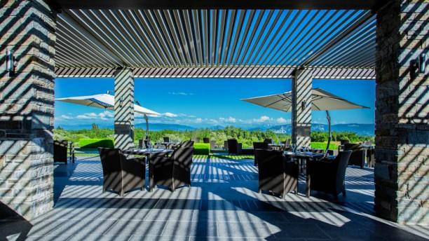 Jiva Terrasse du restaurant