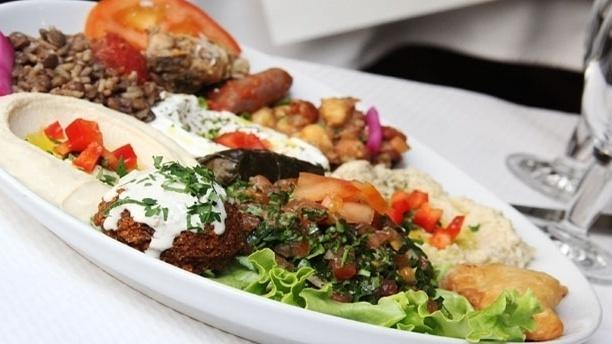 Restaurant Mezze Du Liban Paris  Carte