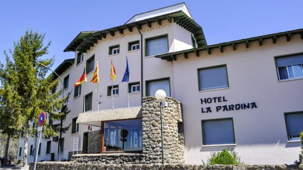 La Pardina - Hotel La Pardina Entrada