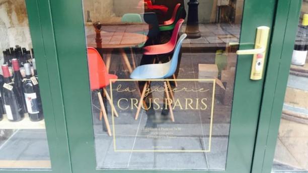 La Galerie Crus Paris entrée