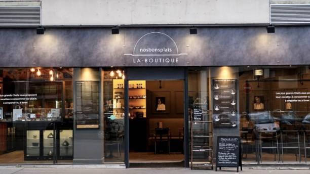 Nosbonsplats - La Boutique Façade