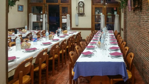 Sidrería Los Felechos Sala del restaurante