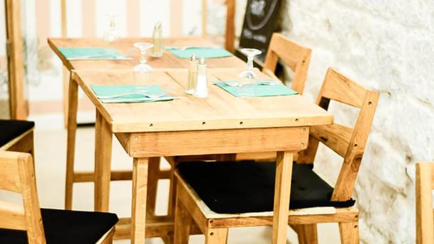 L'Echoppe de Paris-Lamarck Table dressée
