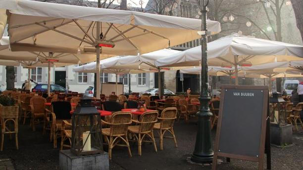 Brasserie Van Buuren Terras