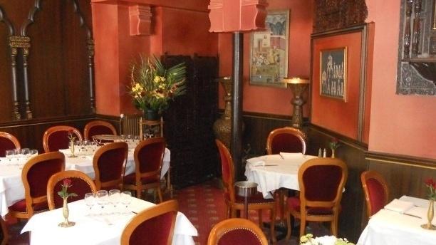 Mina Mahal Salle du restaurant