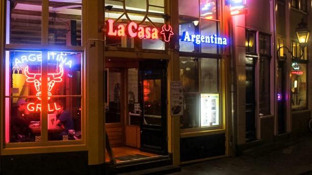 La Casa Argentina Ingang