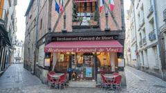 Léonard de Vinci - Restaurant - Tours