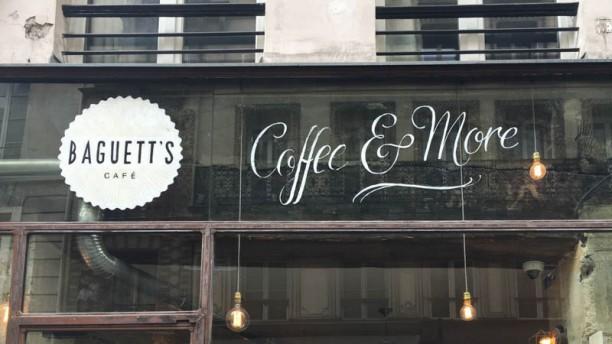 Baguett's Cafe devanture