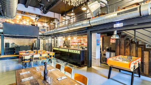 Le Café de la Presse La salle du bas