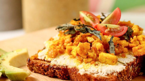 Carrito Organic Food Tostata de tofu