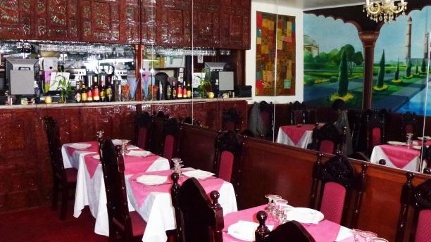 Restaurant Délice de Agra Salle du restaurant