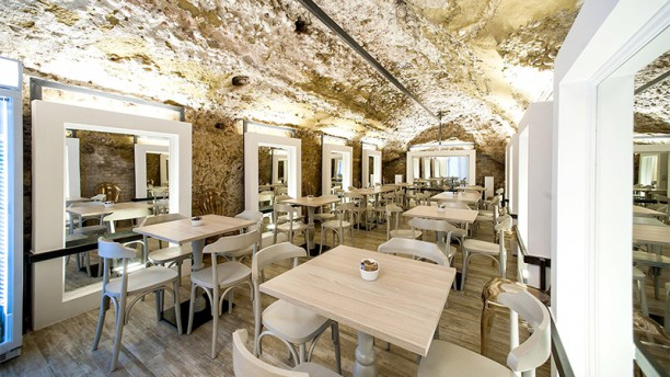 Osteria Bonelli Siena Vista della sala