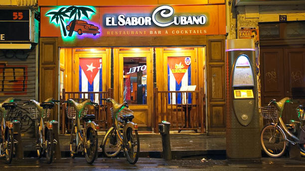 El Sabor Cubano devanture