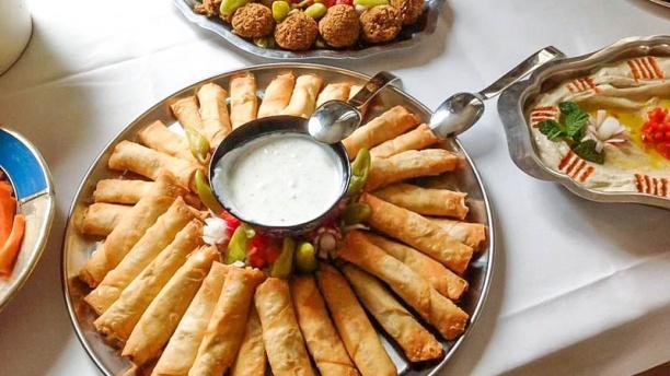Les Libanais Vue plat