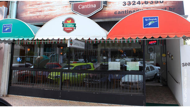 Cantina D'Itália RW . Fachada