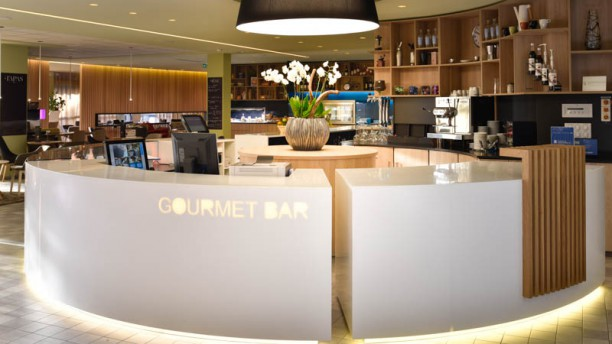 Gourmet Bar apreçu de la récéption