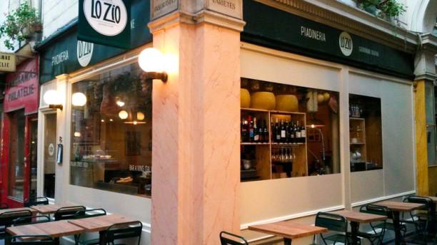 Lo Zio Façade du restaurant