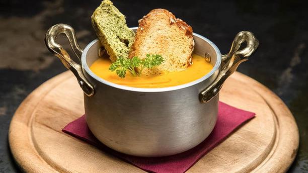 Gnammino zuppa con pane