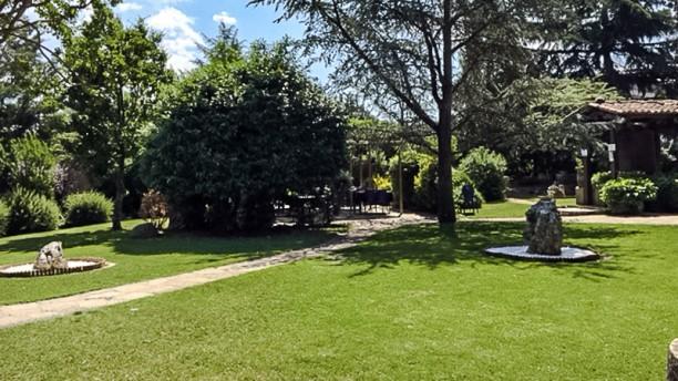 La Masia de Taradell Jardín