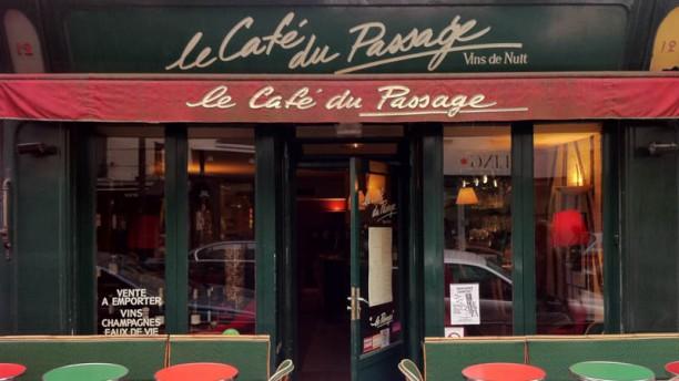 Le Café du Passage devanture