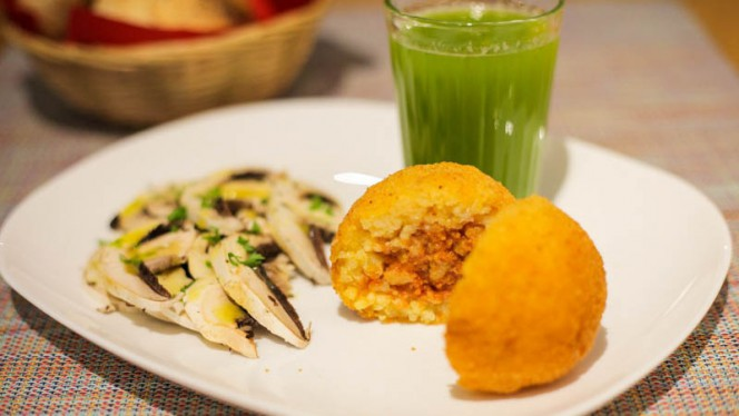 Arancina e funghi - Un'Altra Idea, Bologna