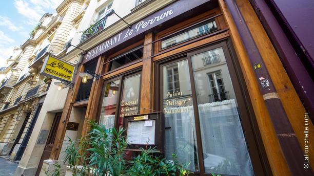 Le Perron Bienvenue au restaurant Le Perron