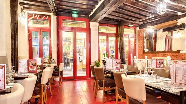 Bombay Café Vue de la salle