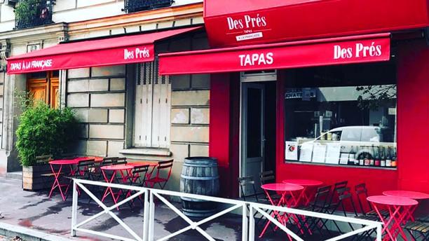 Des Prés Tapas à la Française Devanture